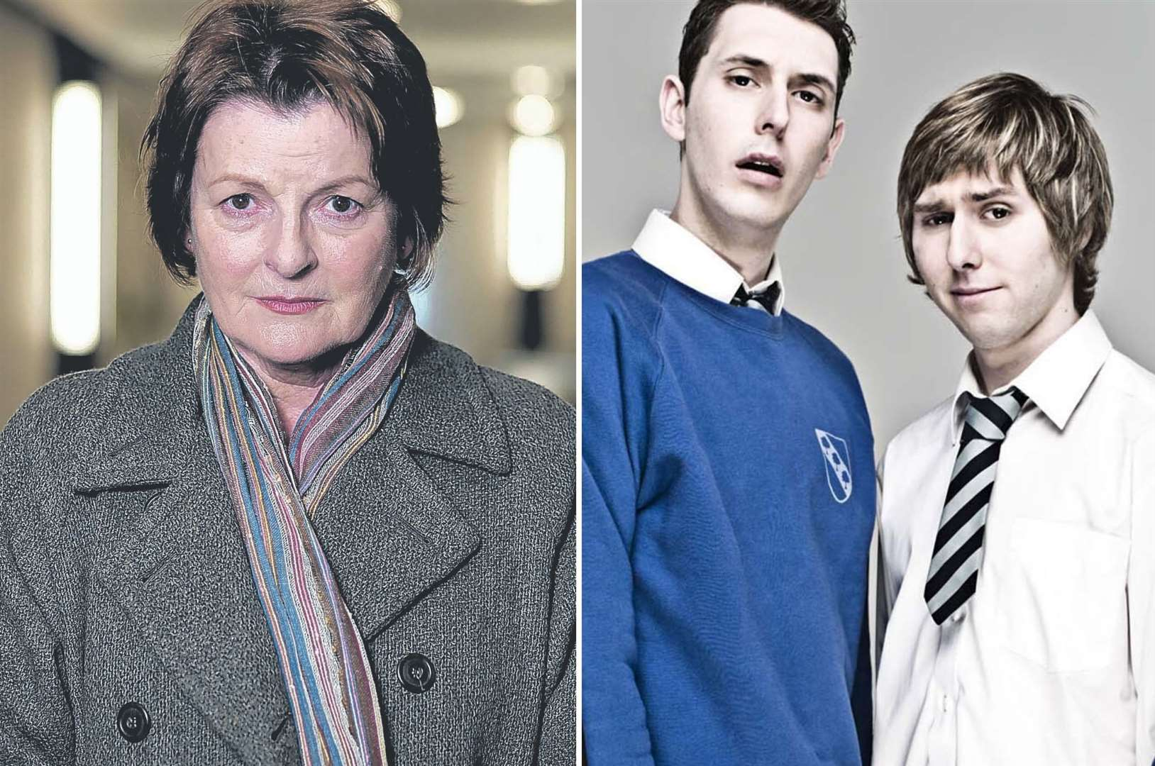 Brenda Blethyn and Blake Harrison (middle) will be starring in Kate and Koji