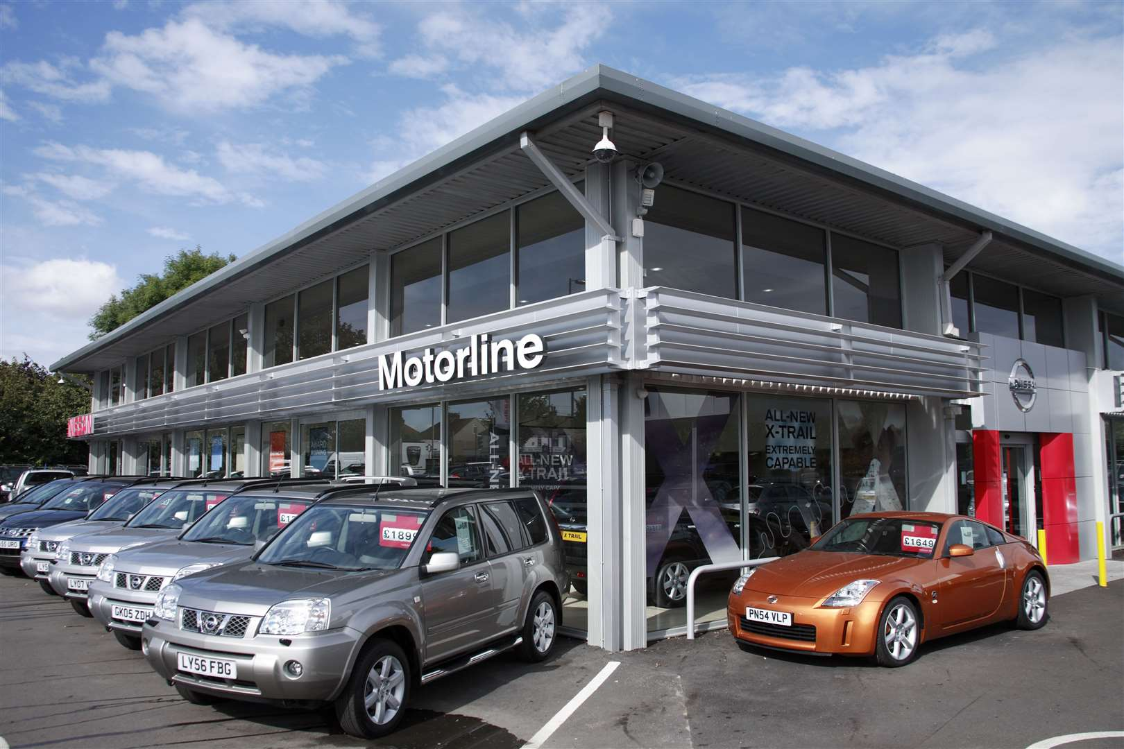 Motorline has a host of motor dealership across the county and UK