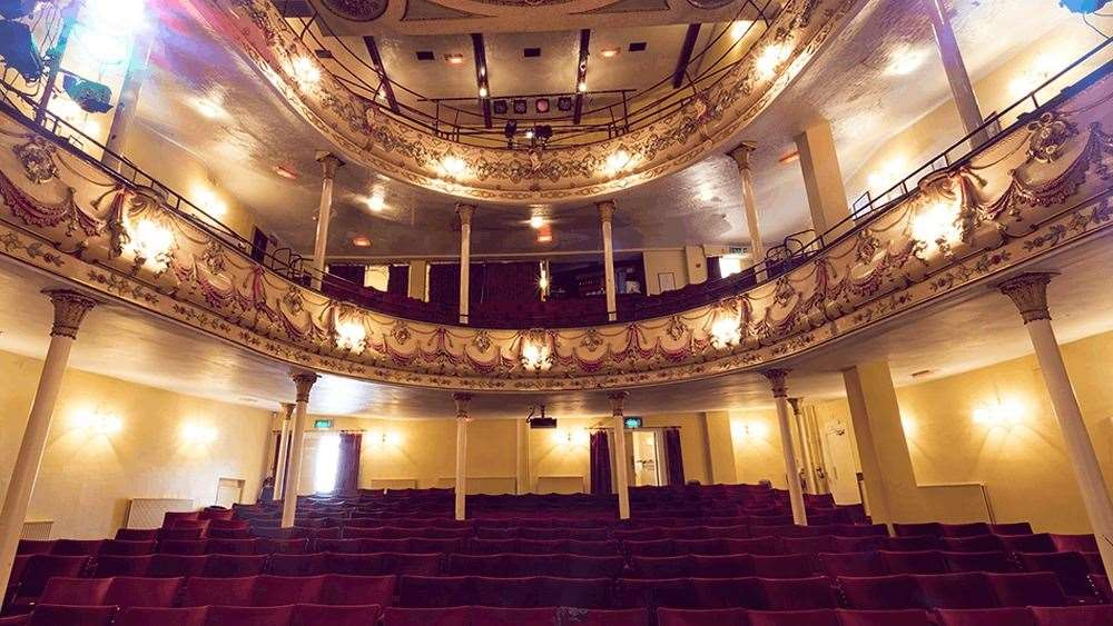 Inside the Theatre Royal in Margate. Picture: Sheradon Dublin Photography