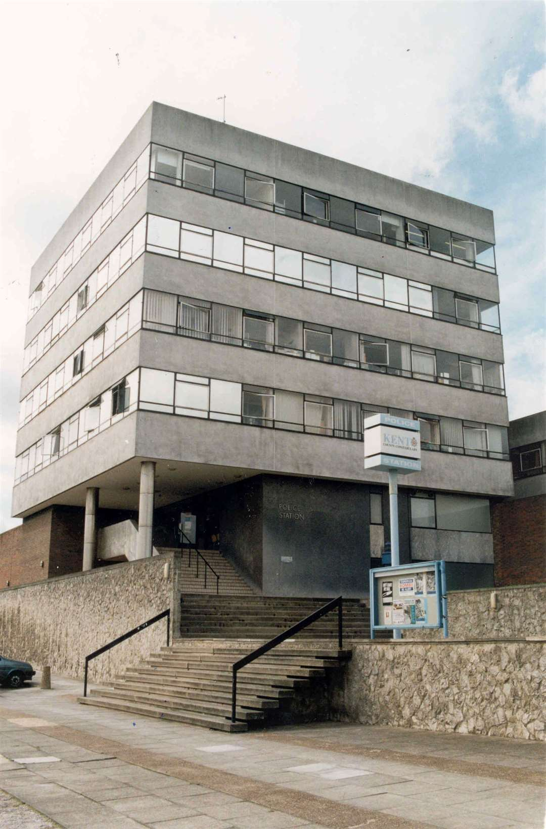 Rochester's police station in 1997