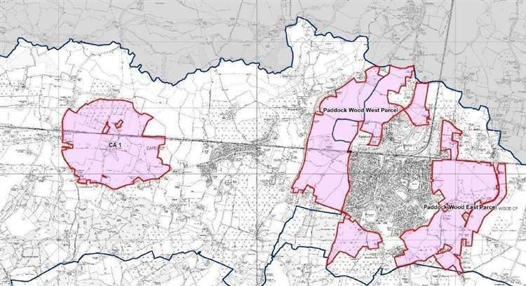 Areas proposed for more housing in Tunbridge Wells' draft Local Plan