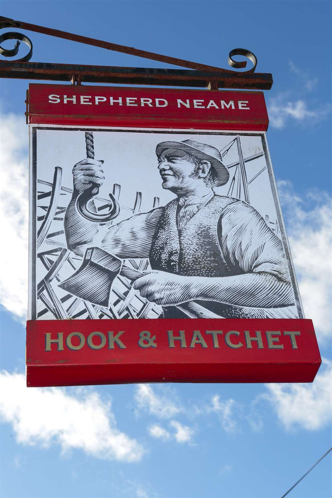 The Hook and Hatchet on Church Road in Hucking