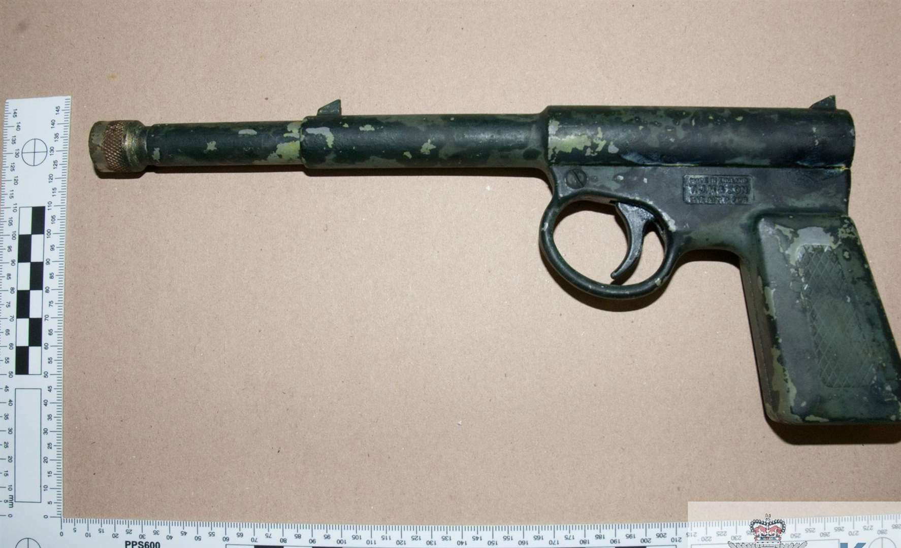 One of the handguns found during the raid. Picture: Kent Police
