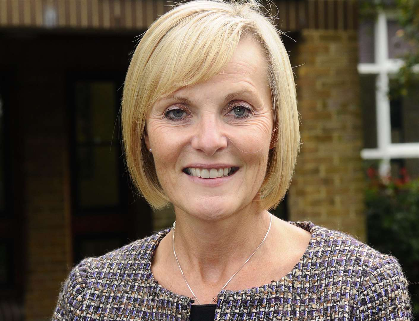 Julie Derrick, head teacher of Invicta Grammar school