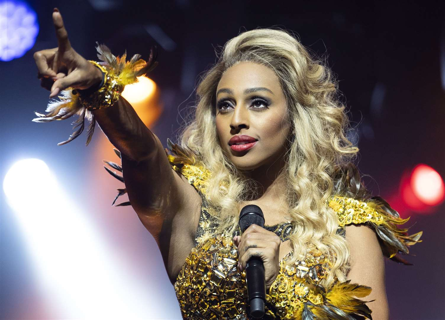 Alexandra Burke stars as Rachel Marron (10454734)