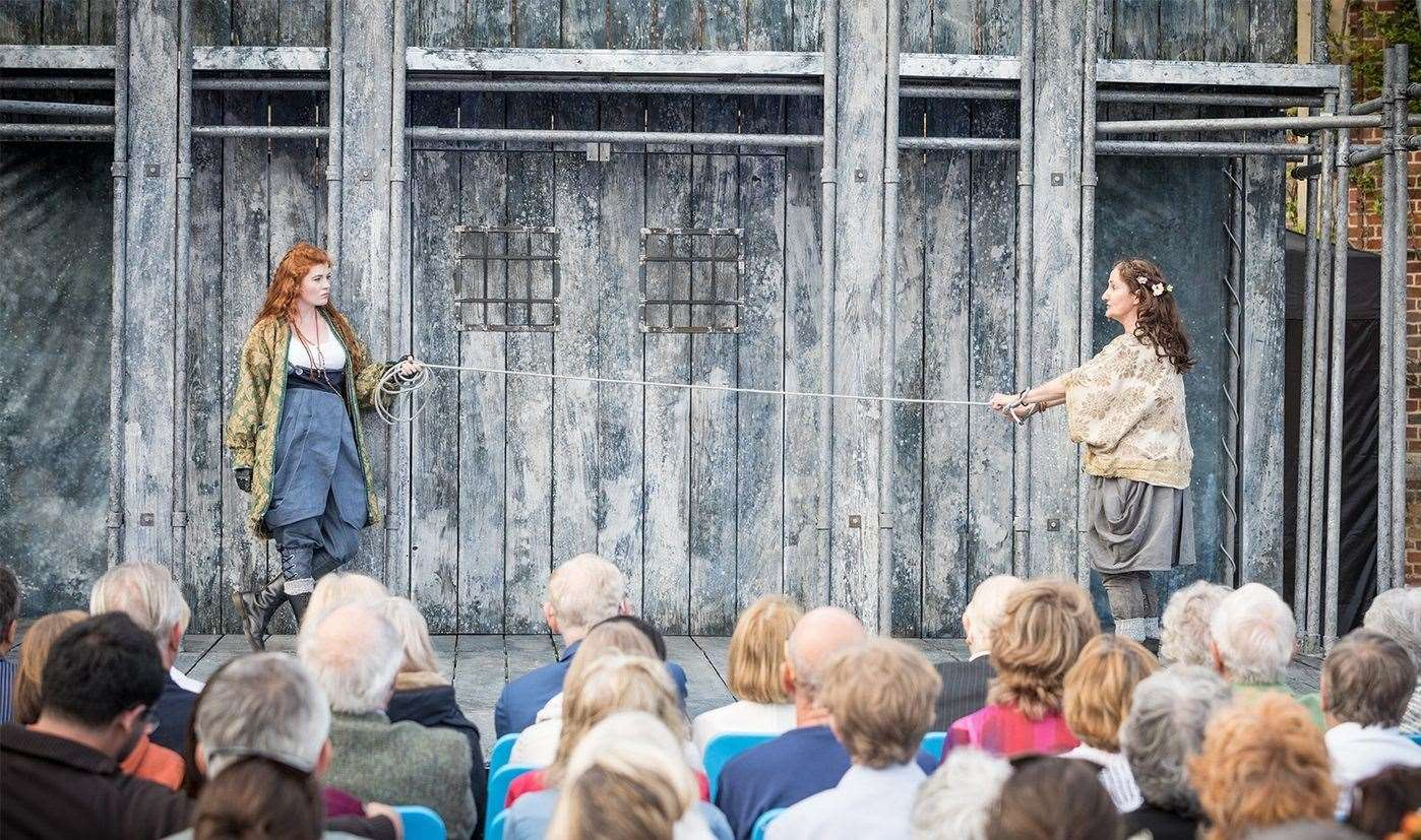 Shakespeare's Globe will be at Hever this year