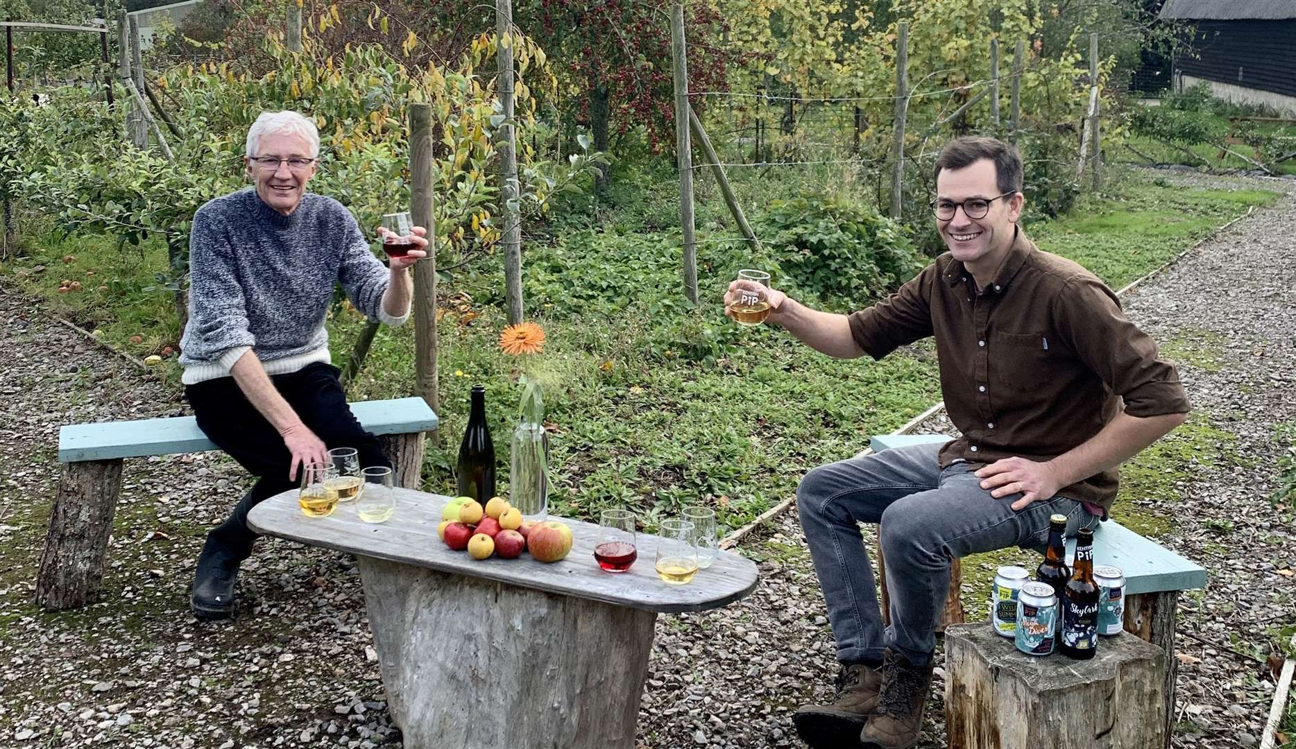 Paul visits a 100-year old cider apple orchard and meets farmer Sam Picture: Olga Productions/ITV Pictures