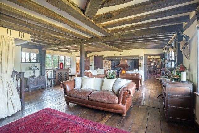 Parts of the house date back to the 15th century. Picture: Zoopla / Strutt & Parker