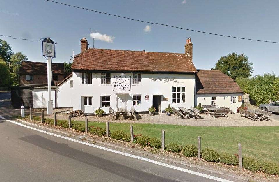 The Vineyard in Lamberhurst. Picture: Google Street View