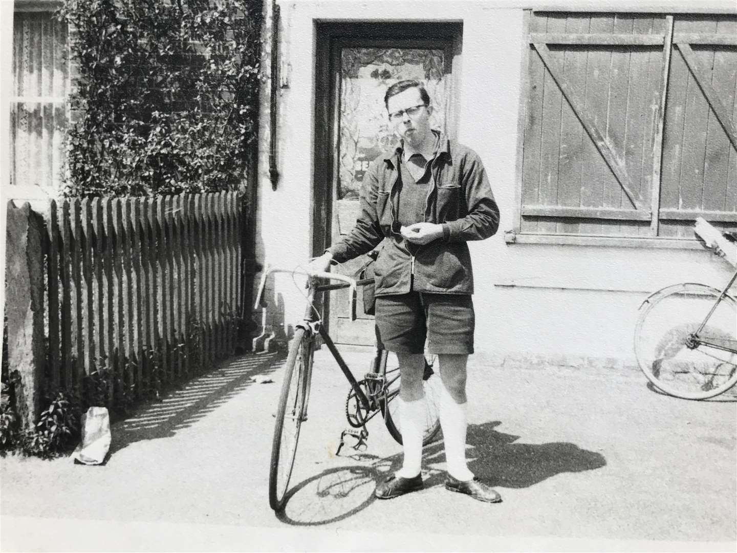 Peter Newman was a keen cyclist in the 1950s