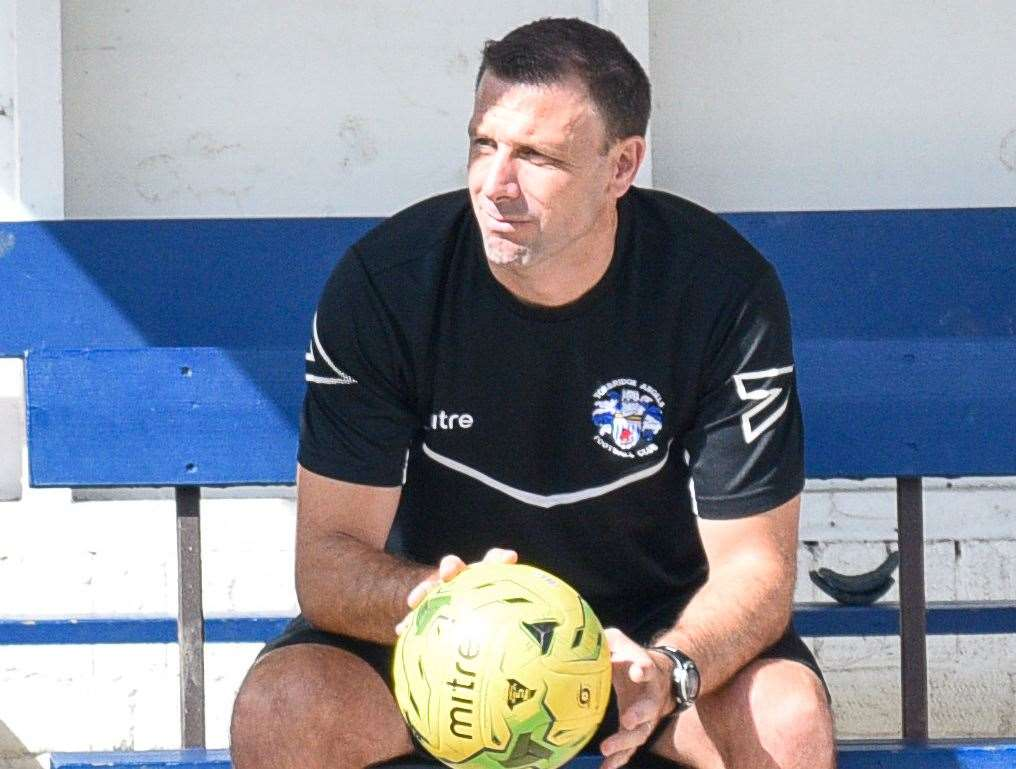 Tonbridge Angels manager Steve McKimm has been busy re-signing players and strengthening his backroom team Picture: Alan Langley