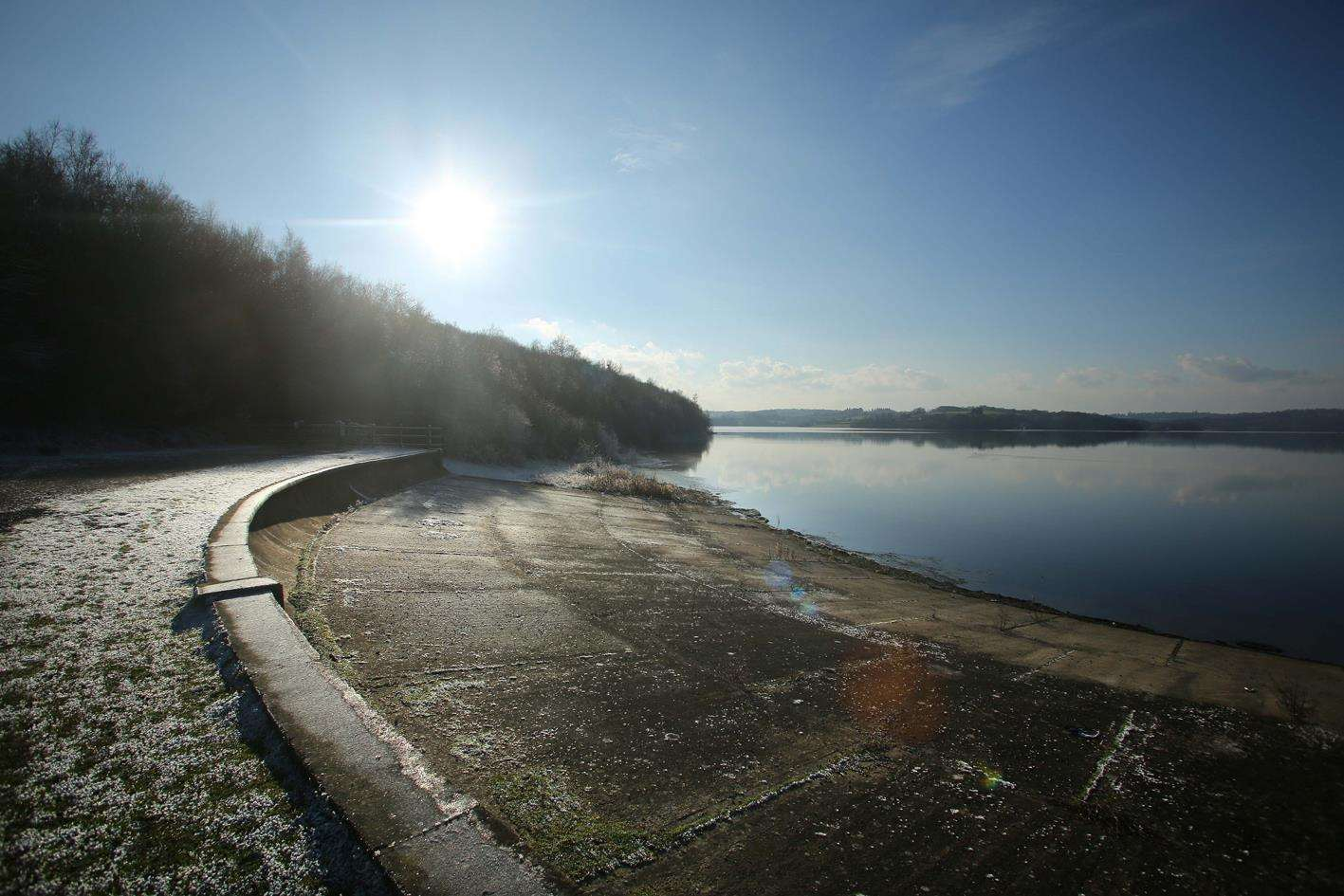 Bewl Water is a lovely place for a bike ride