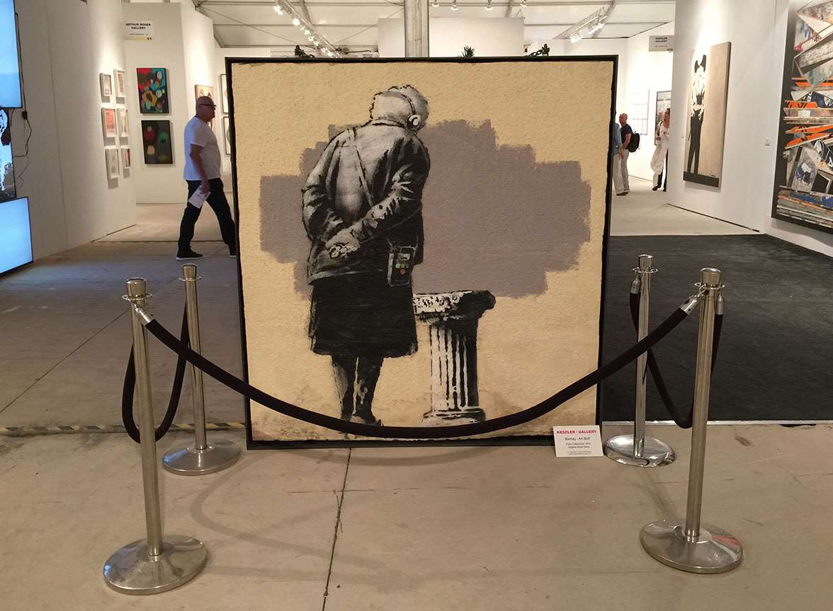 Art Buff on display in Miami. Picture: Hrag Vartanian