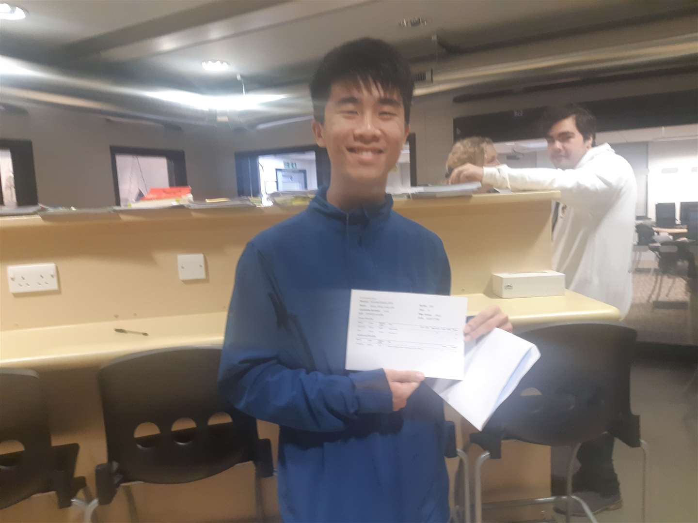 Eason Lam, from Thomas Aveling, who is going to study chemical engineering at Bath after his A-level results (15276152)