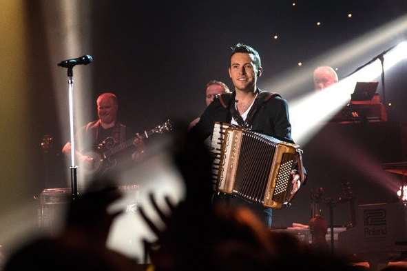 Ireland's No.1 entertainer, Nathan Carter, will be playing in Chatham