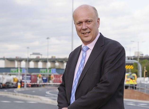 Transport secretary Chris Grayling (4908514)