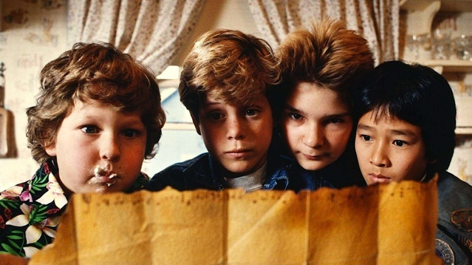 Eighties adventure The Goonies kicks things off Picture: Warner Bros.