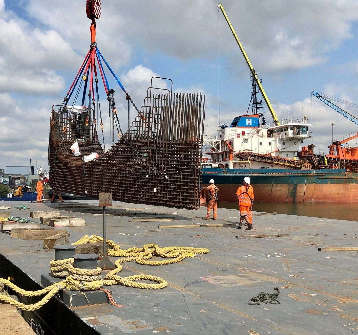 Chatham Docks are set for closure in 2025. Picture: Association of Chatham Docks Commercial Operators