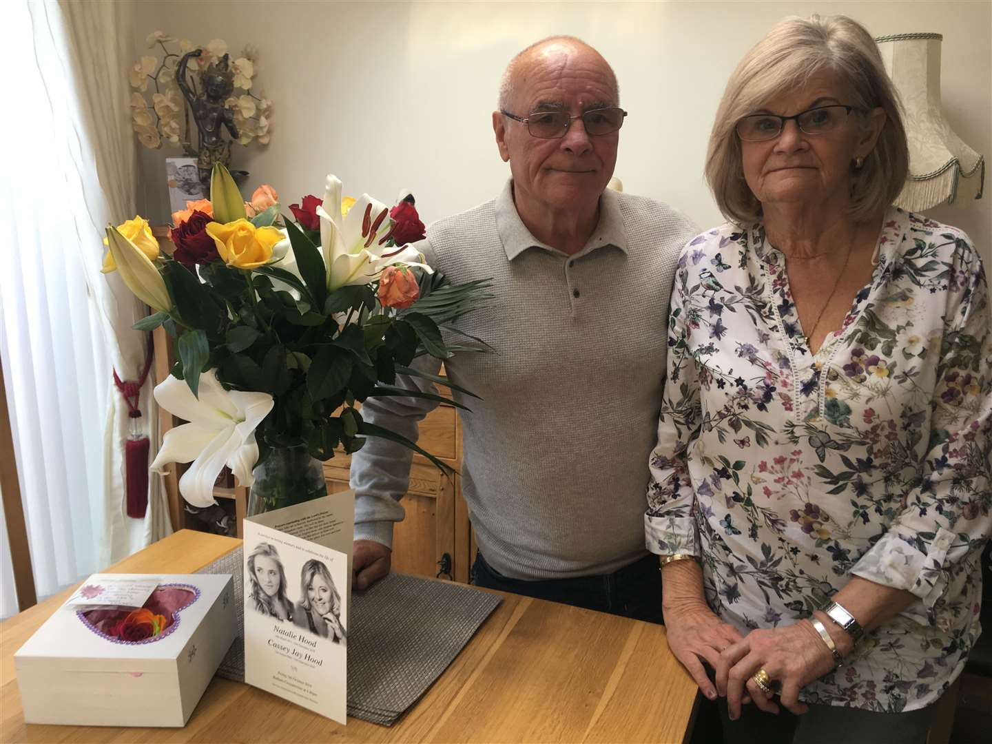 Ray and Carol Hood say they can never forgive Lucy Leadbeater