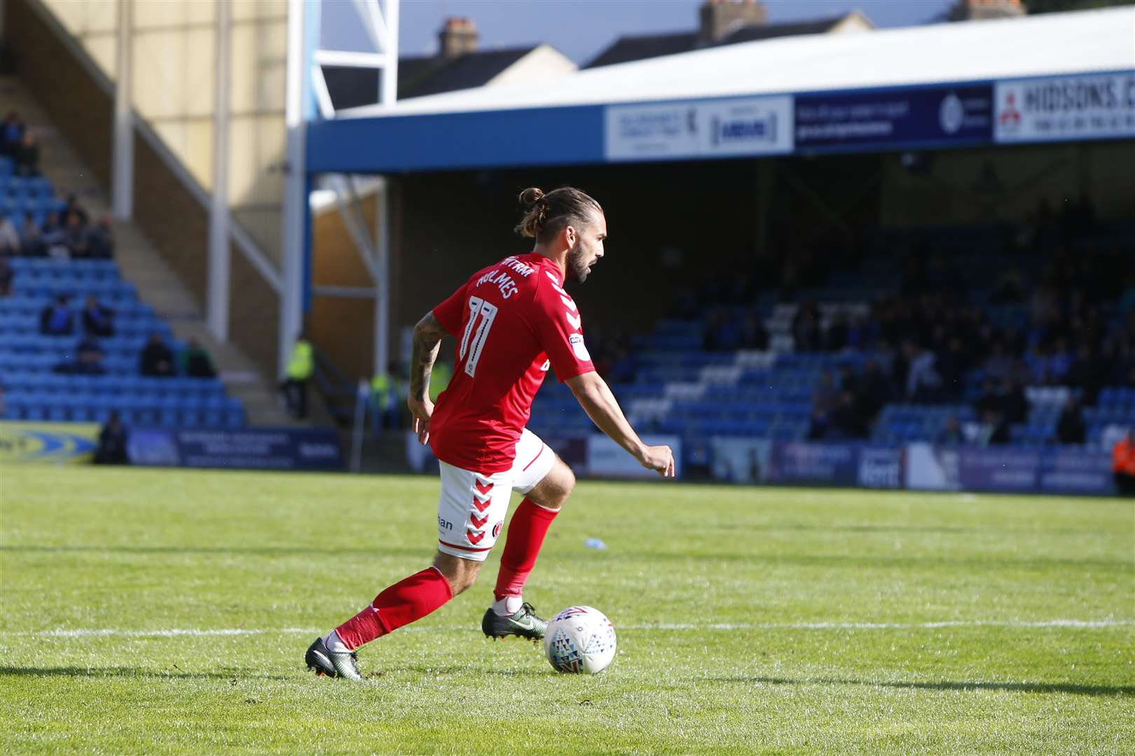 Mark Byrne was key to bringing Ricky Holmes to Priestfield and he believes the former Charlton man will have a big impact