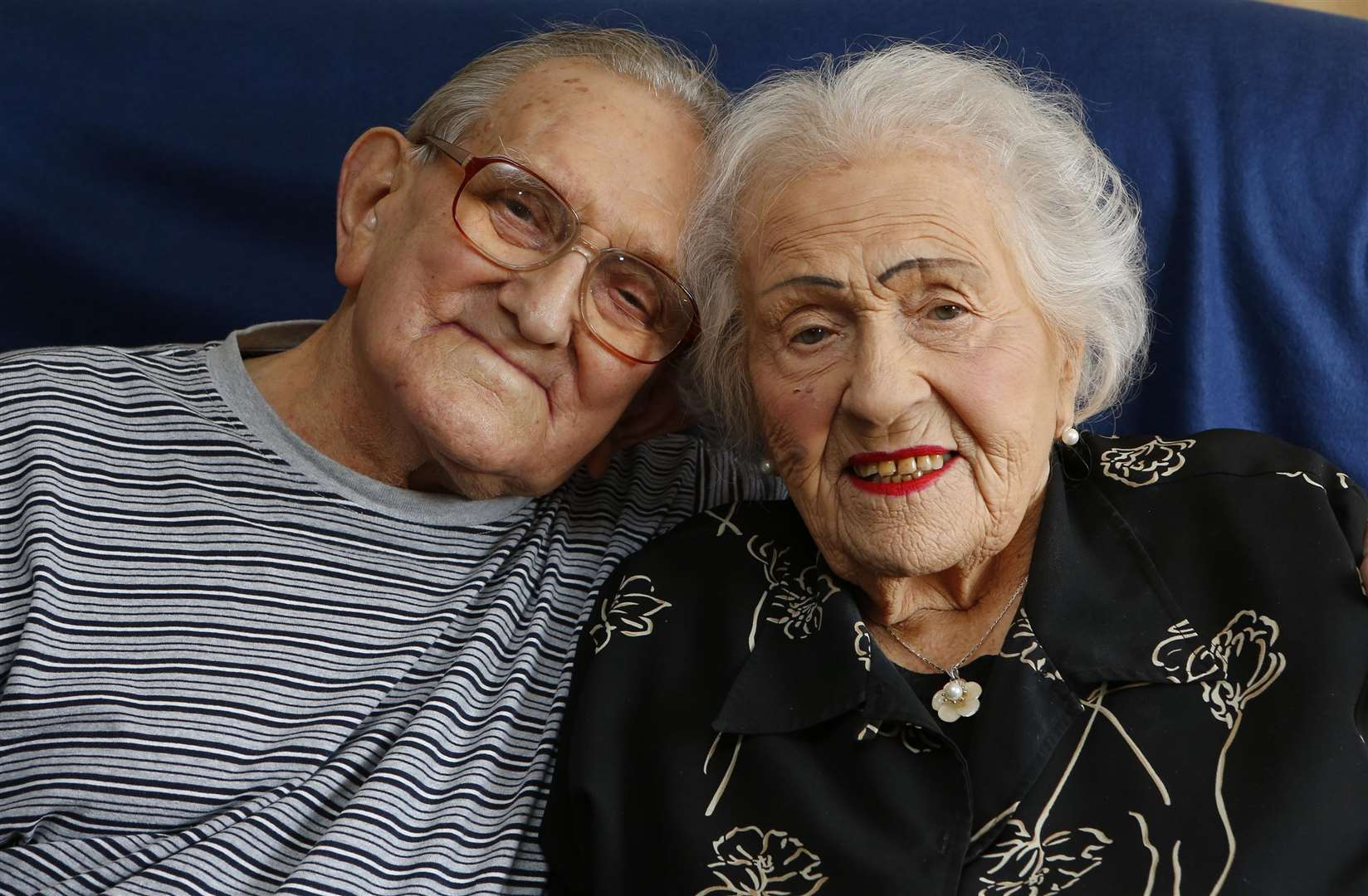 James and Vera Brown, 94 and 95, are celebrating their 70th wedding anniversary