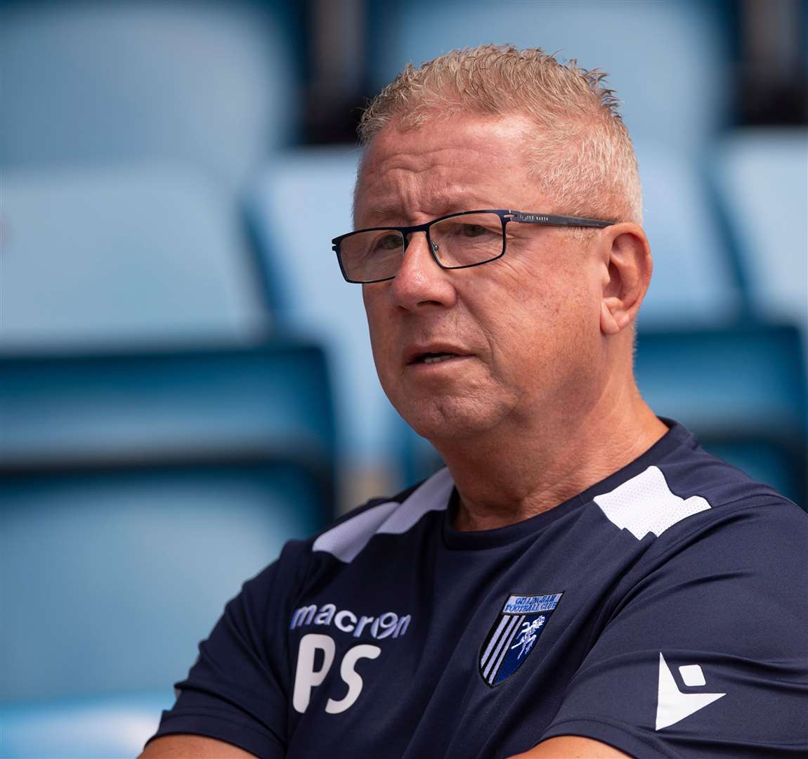 Gillingham chairman Paul Scally will be discussing League 1's future with his fellow owners again this week Picture: Ady Kerry