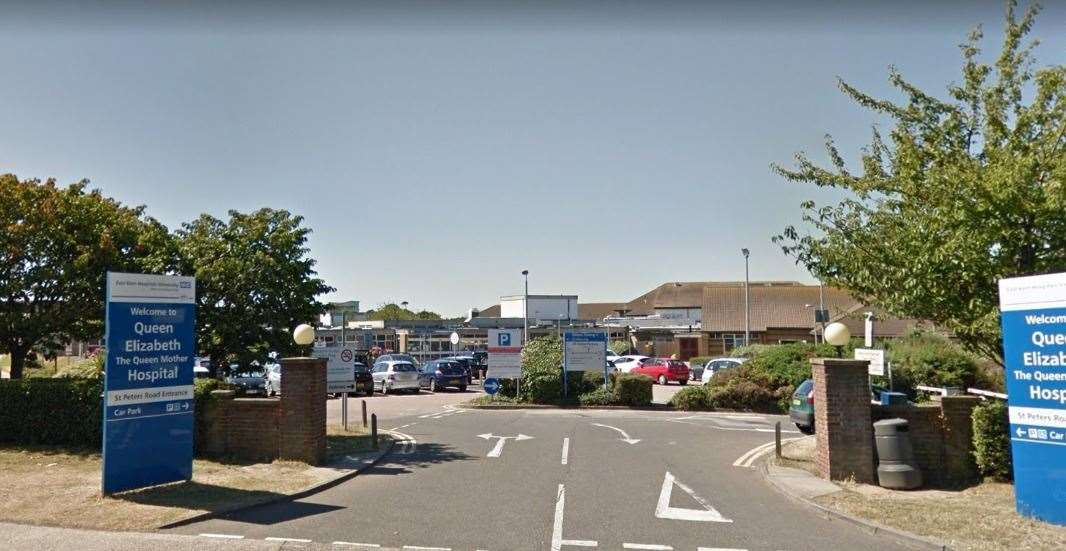 QEQM Hospital in Margate. Picture: Google Street View