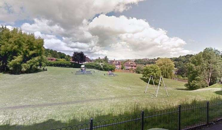 Sandgate Park, in Military Road. Picture: Google