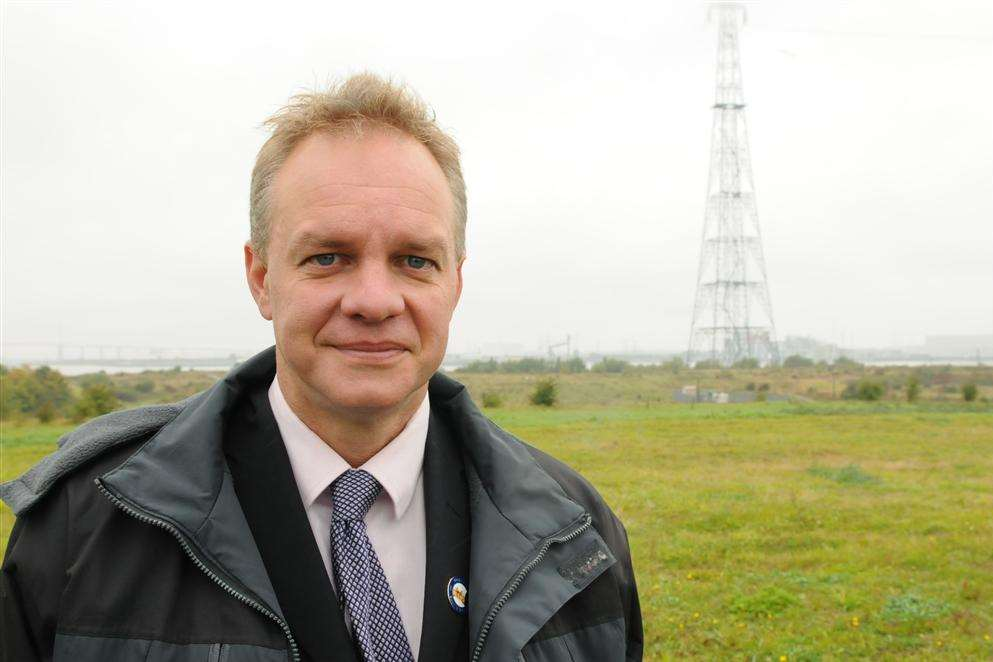 London Resort Company Holdings' Tony Sefton on the Swanscombe Peninsula