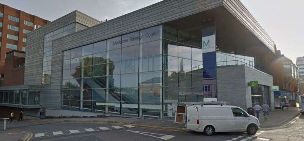 Maidstone Council is in the process of its Local Plan Review Picture: Google street view
