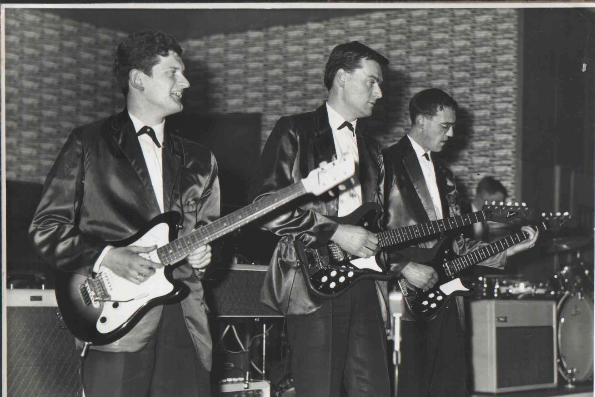 The Zephyrs playing at the Kent Candy Ball at the Royal Star Hotel in Maidstone in the 1960s.