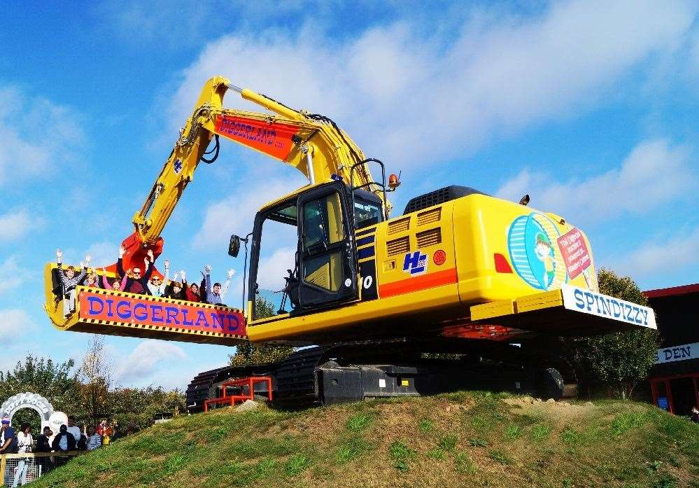 Diggerland will reopen