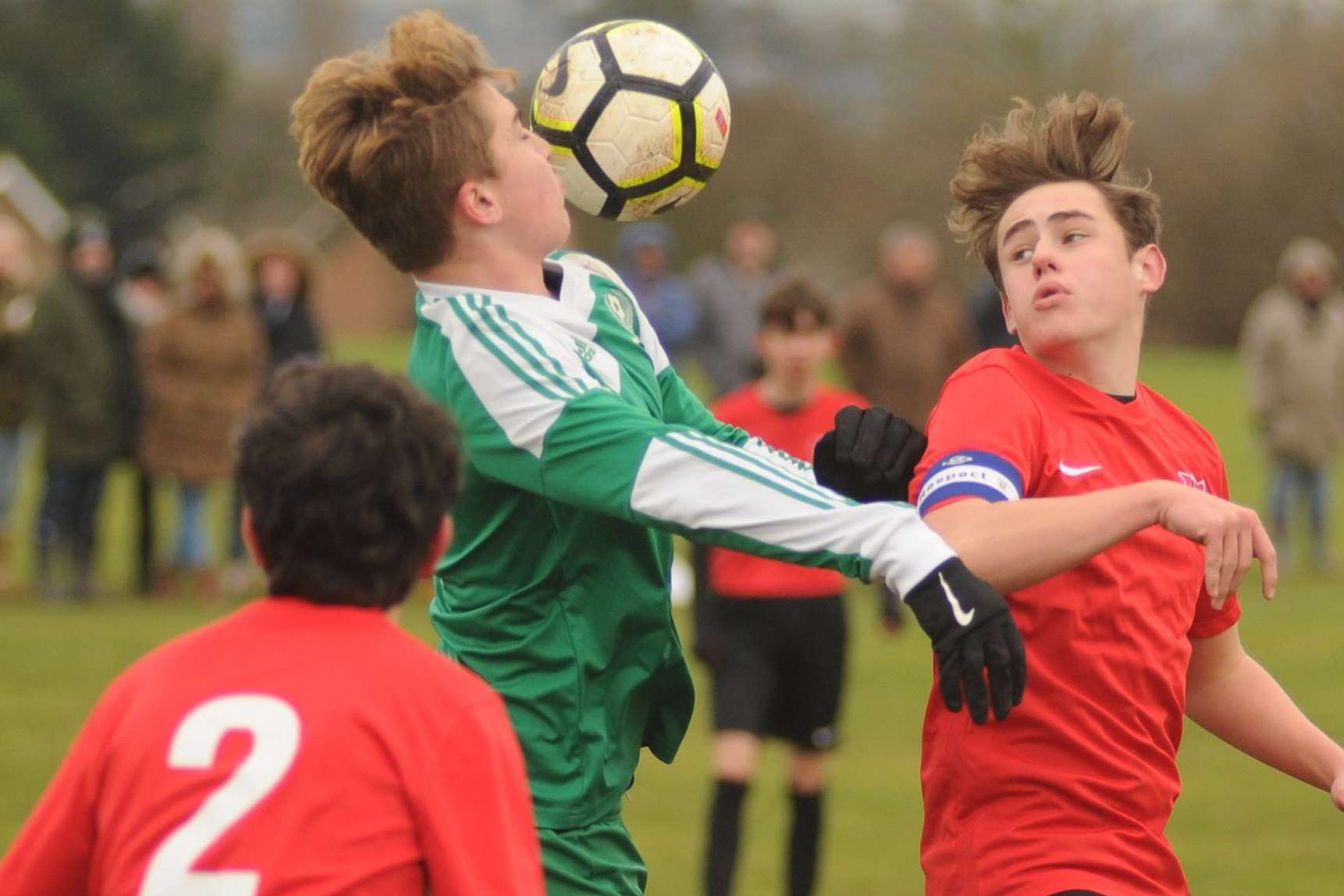 Thamesview double up to thwart Eagles in Under-16 Division 2 Picture: Steve Crispe