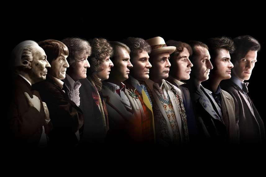 The Doctors so far: William Hartnell, Patrick Troughton, Jon Pertwee, Tom Baker, Peter Davison, Colin Baker, Sylvester McCoy, Paul McGann, Christopher Eccleston, David Tennant and Matt Smith