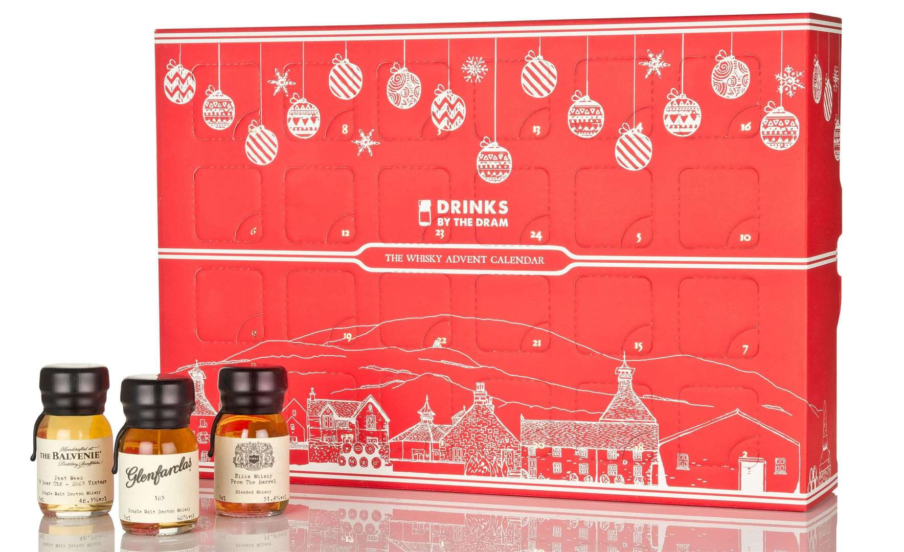 The Whisky Advent Calendar from Laithwaite's Picture: PA Photo/Drinks By The Dram