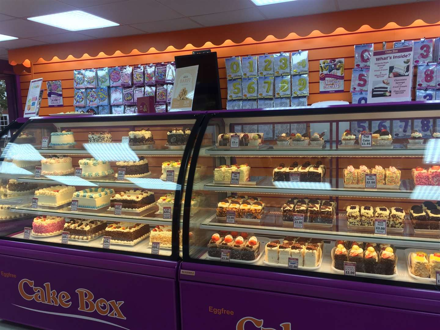 A selection of egg-free cakes are on offer (20945626)