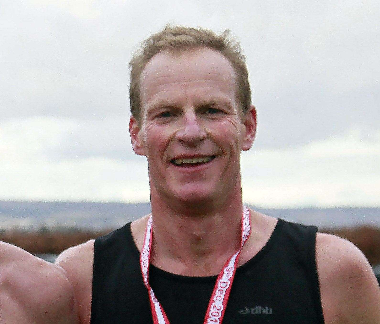 Top men's runner in the Lockdown League was Richard Tomlinson Picture: Sean Aidan
