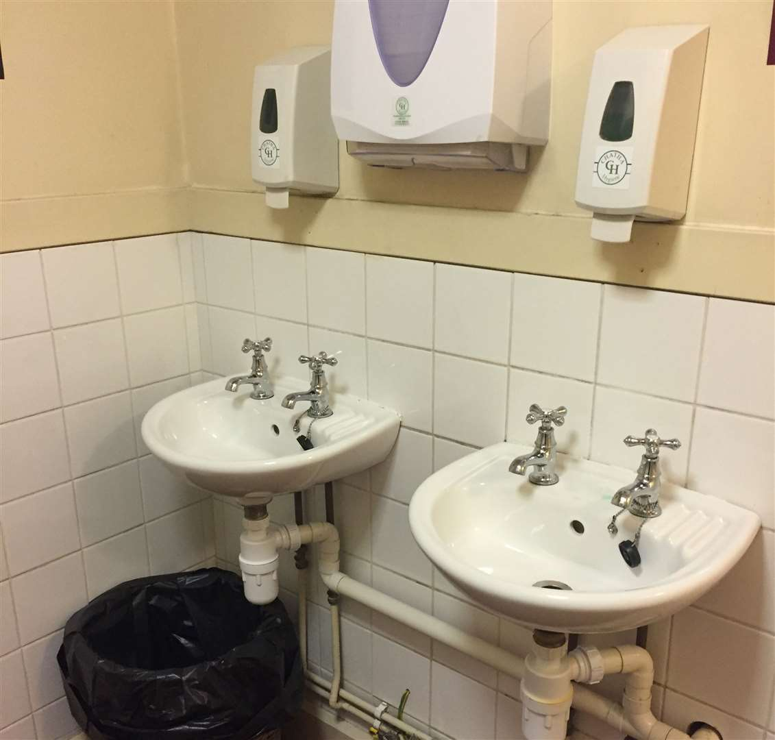 Both the ladies and the gents toilets at the Royal Oak are due an overhaul