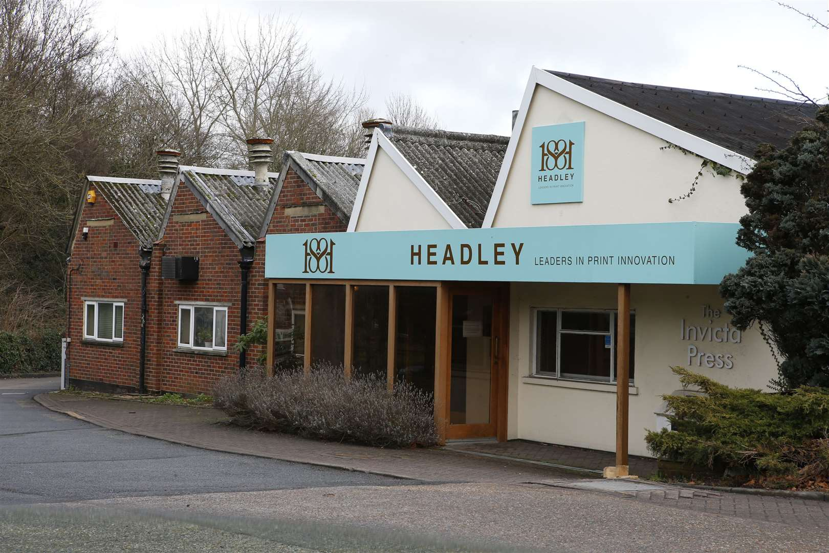 The Headley Brothers site before it was torn down