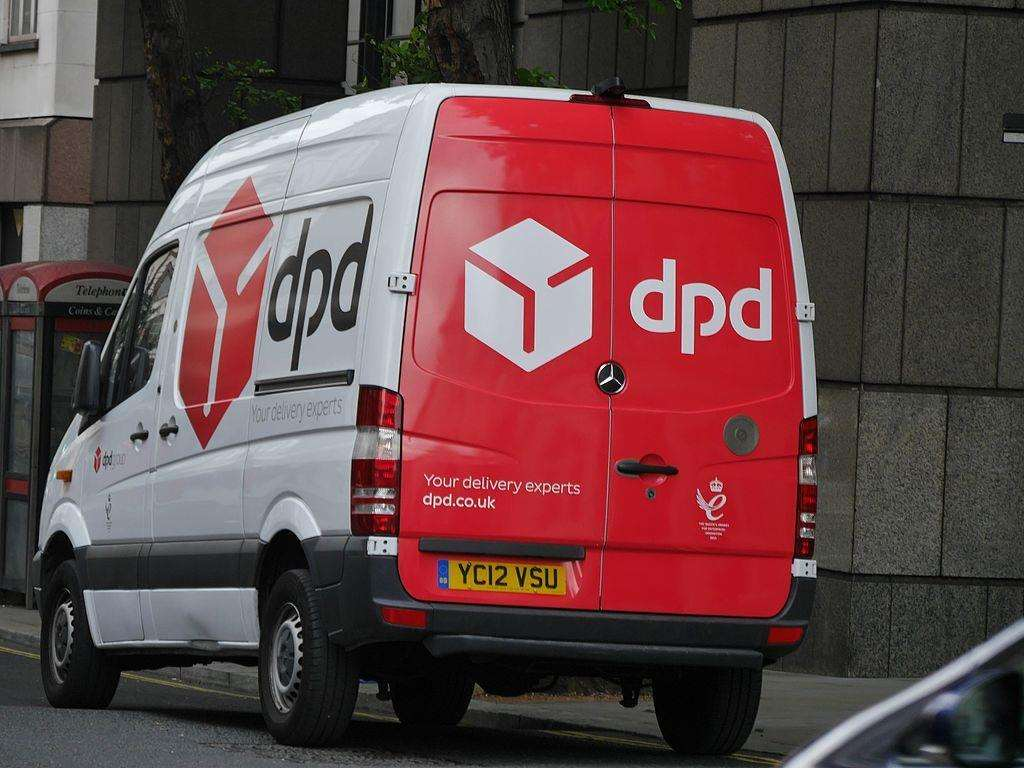 A DPD delivery van was stolen in Goudhurst. Picture credit: Edward Hands