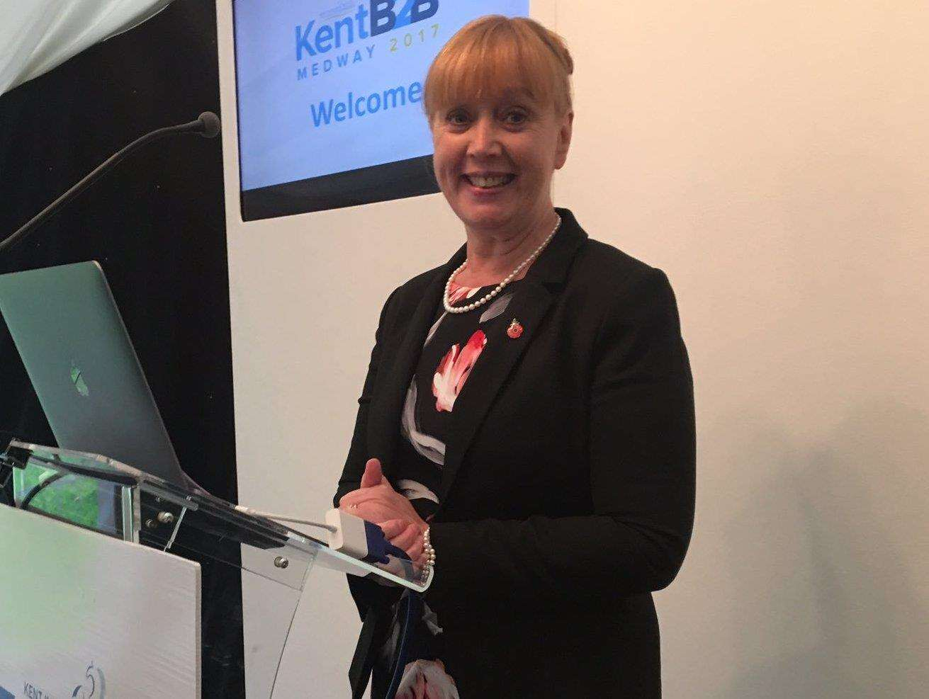 Kent Invicta Chamber of Commerce chief executive Jo James