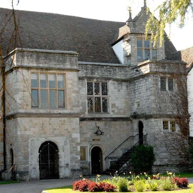 The inquest was held at Archbishop's Palace, Maidstone