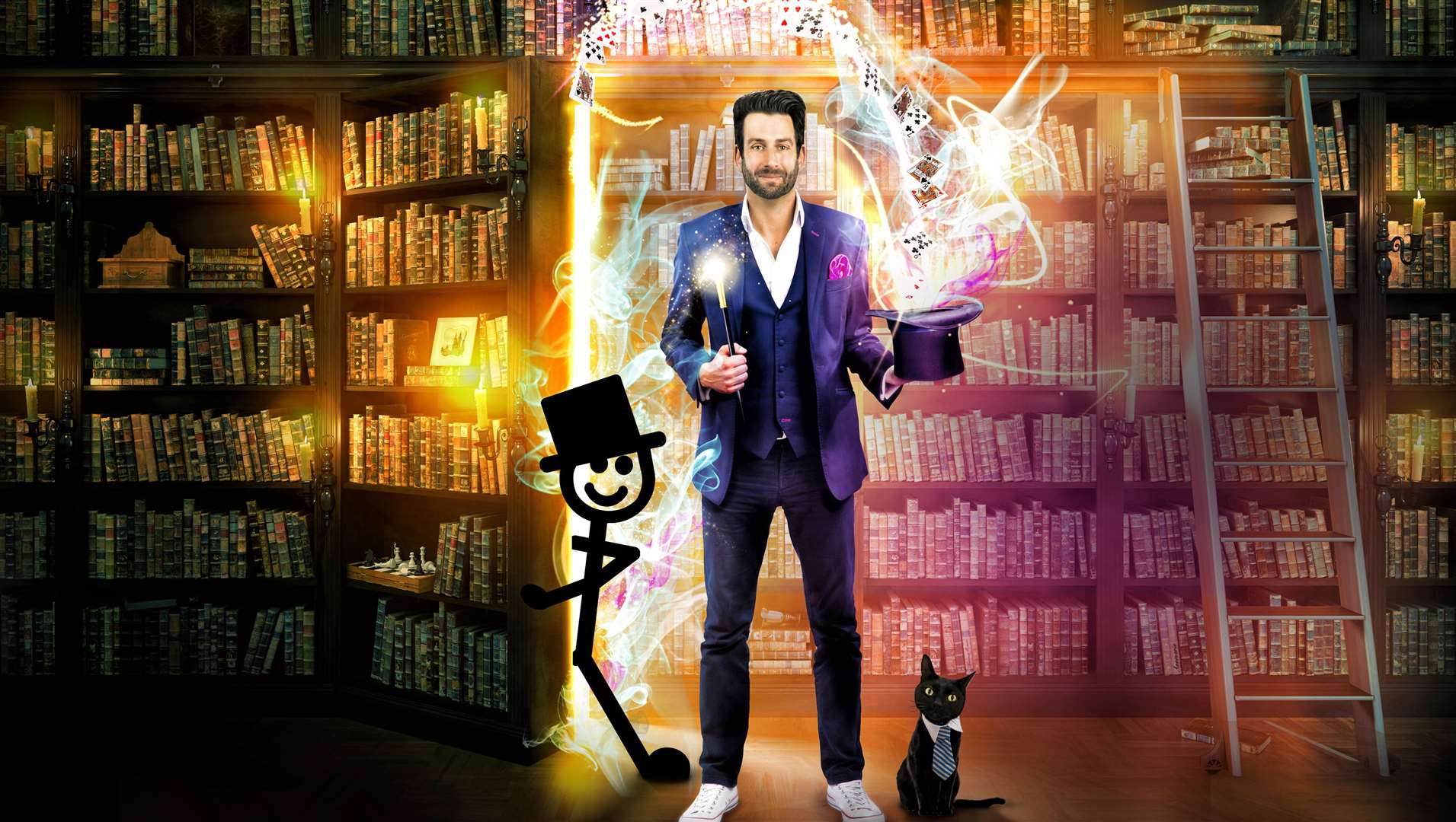 Magician Jamie Raven will be at Bluewater