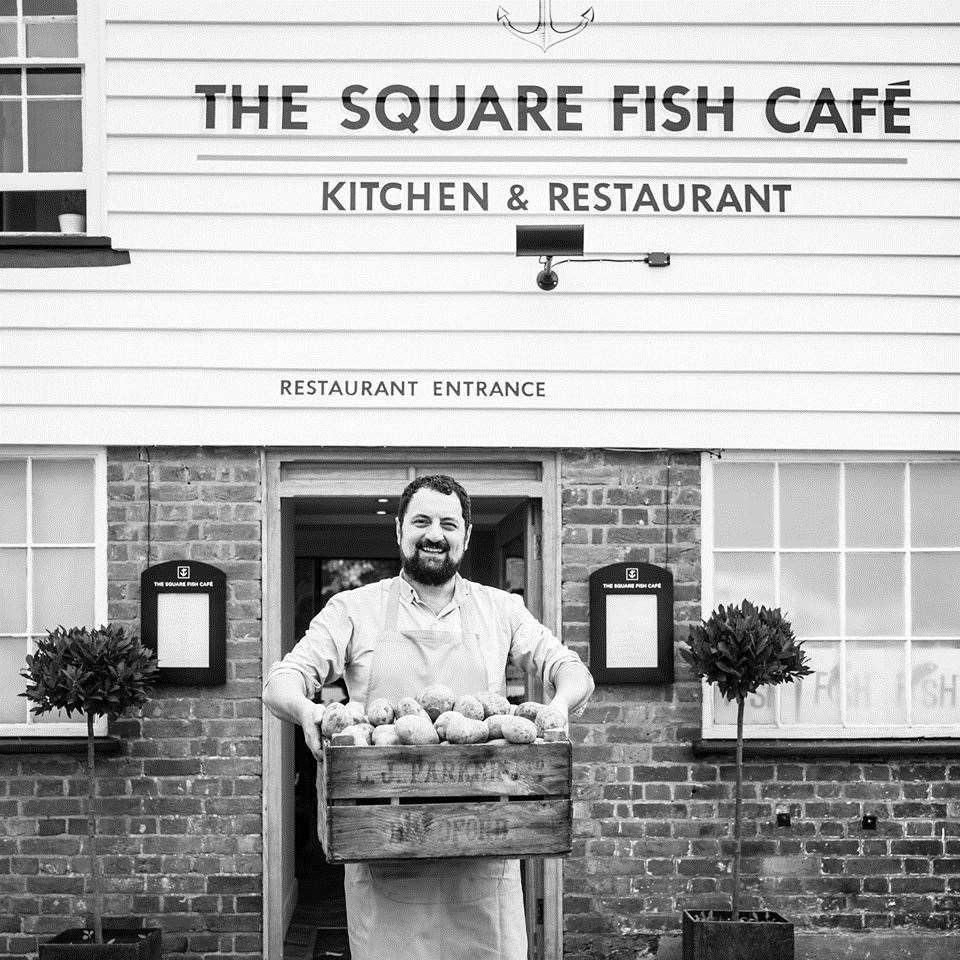The Square Fish Cafe is TripAdvisor's top-rated takeaway in the Maidstone area. Picture: Square Fish Cafe / Facebook