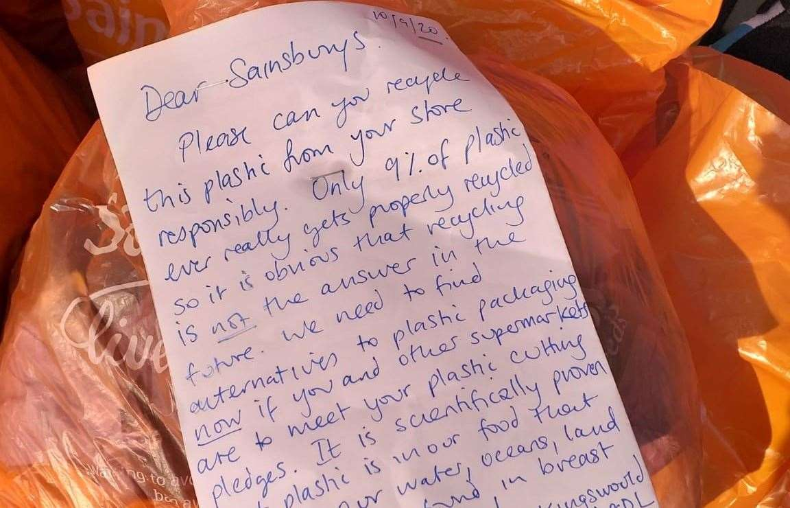 The letter asks supermarkets to improve their pledges to reduce single use plastics Picture: Helen O'Brien