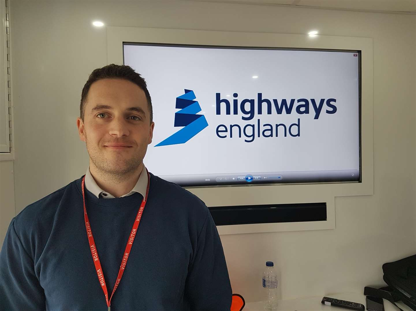 Tom Selby, Highways England's project manager for the M20 Junction 10a works