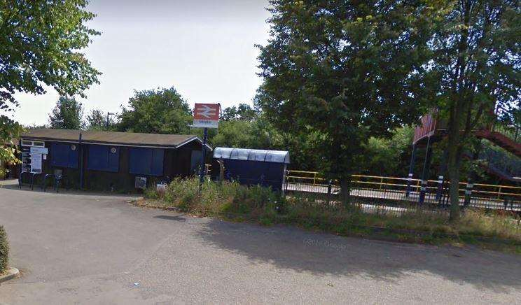 Minster railway station. Picture: Google Street View