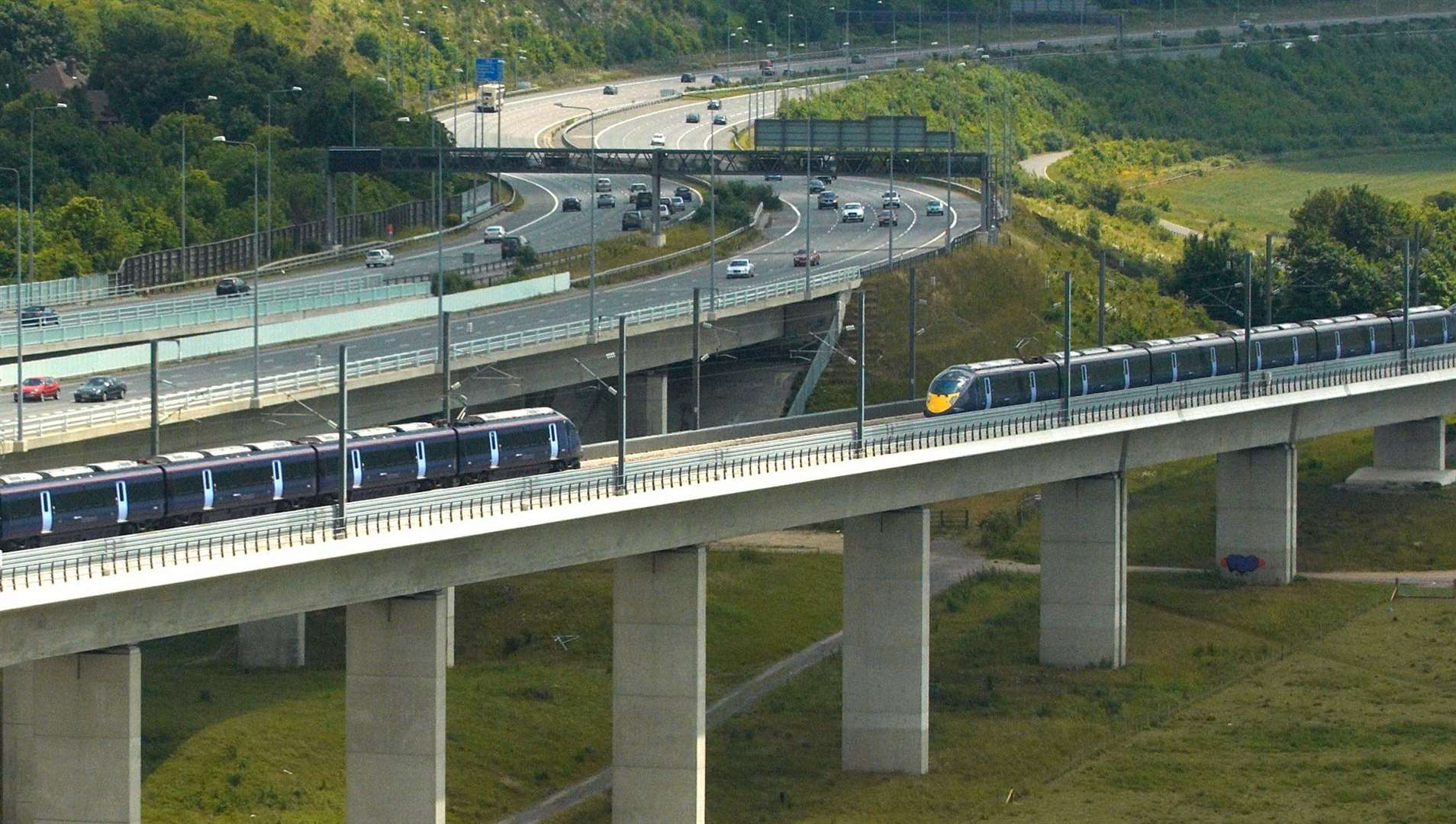 Kent's rail network could change in the coming years. Pic: Transport for South East