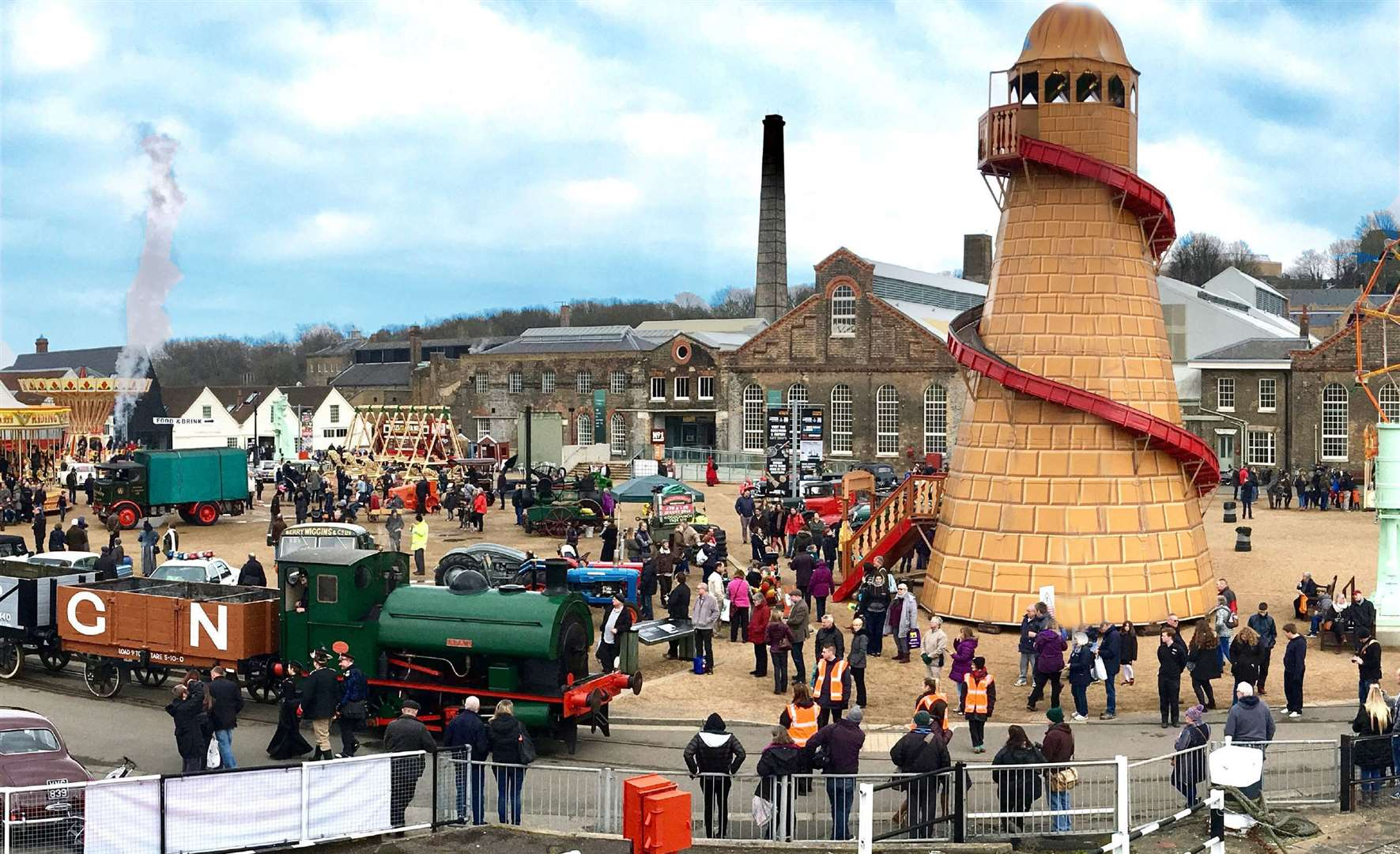 Head to The Festival of Steam & Transport this Easter Weekend in Chatham!