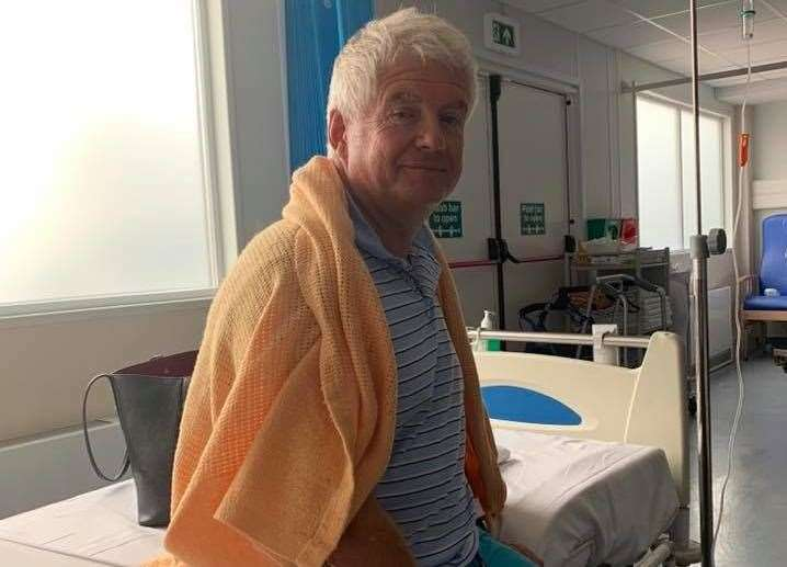 Paul Barrett recovering in hospital (16016658)